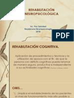 REHABILITACIÓN NEUROPSICOLÓGICA-SOLE