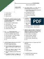 PREGUNTAS PROPUESTAS - HISTORIA DEL PERU