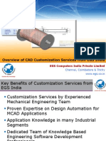 CAD Customization Services Overview EGS India