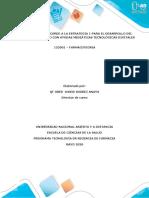 Guía transitoria acorde a la estrategia 1 mediada por tecnología de farmacotecnia 152001