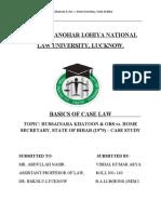 CASE LAW 2017