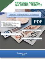 MONOGRAFIA DE DERECHO CONSTITUCIONAL ECONOMICO