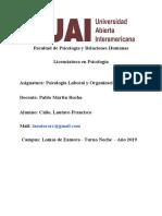 1er Parcial Psicologia Laboral - Calio (1)