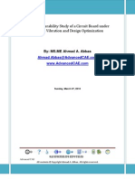 A Sample Durability Study of a Circuit Board Under Random Vibration and Design Optimization