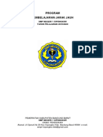 Program Pembelajaran Jarak Jauh SMPN 1 Cipongkor 2019_2020