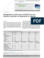 Management of mild cases of COVID-19 in low-resource countries