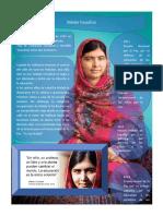 Malala Yousafzai . 1