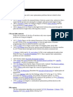 History of Optimization