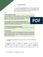 Formato PLAN DE INVERSION