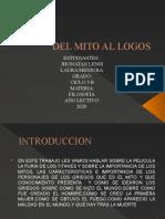 de mitos a los logos