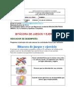 Guía Nº2 de Educación Física. Grado 2º. 2020.