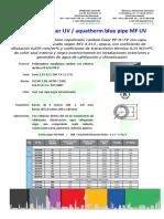 Aquatherm blue pipe MF UV