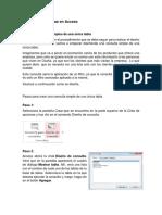 Diseño de consultas en Access