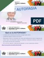 Exposición AYUNO y AUTOFAGIA