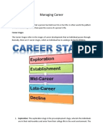 Managing Career