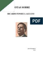 Notas Sobre Ricardo Fonseca Aguayo