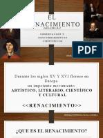 RENACIMIENTO - Historia de la meteorología.
