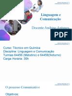 Linguagem e comunicação 2019