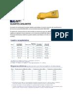 GUANTES AISLANTES REGELTEX