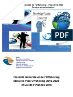Fiscalite Offshoring -Plan 2016-2020