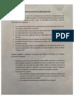 Declaración del Foro de Montevideo 2019