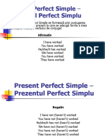 Present Perfect Simple – Prezentul Perfect Simplu