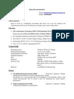 1208C011 Rama Kiran Resume