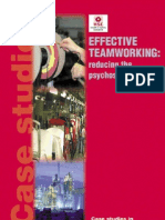 Effective Team Working