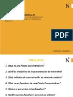 SESION 1_FLOWSHEETS DE PLANTAS CONCENTRADORAS