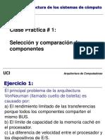 CP1 - Seleccion y comparacion de componentes