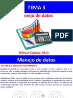 Tema 3 Manejo de datos