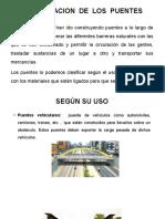 CLASIFICACIÓN DE PUENTES