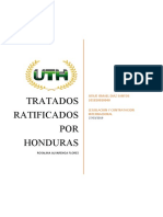 Tratados ratificados por Honduras