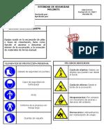 ES15-PC11 ESTÁNDAR DE SEGURIDAD MOLINETE