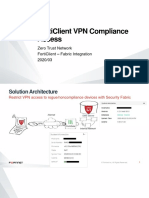 Forticlient VPN Compliance Access