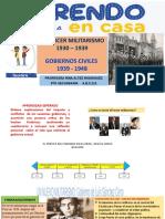 Tercer Militarismo y Los Gobiernos Civiles