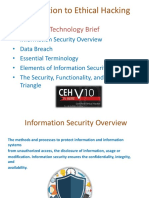Introduction to Ethical Hacking Technology Brief