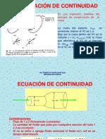 ECUACIÓN DE LA ENERGÍA Y PERDIDAS