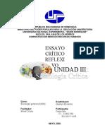 UNIDAD III - SOCIOLOGIA CRITICA
