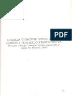 Naselja Bihackog Sreza Iz 1922 Godine i Porijeklo Stanovnistva