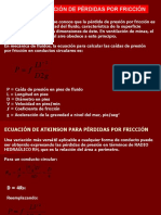 7. CAIDAS DE PRESION POR FRICCION EN CONDUCTOS MINEROS Y DUCTOS DE VENTILACION.pptx