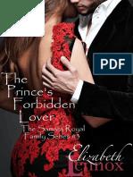Elizabeth Lennox - The Princes Forbidden Lover (The Samara Royal Family Series Book 3)