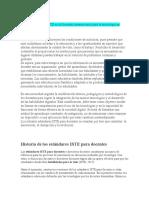 Evaluación El ISTE es la Sociedad internacional para la tecnología en educación.docx