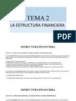 TEMA 2 - ESTRUCTURA FINANCIERA.ABC
