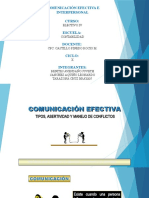 Comunicacion efectiva e interpersonal