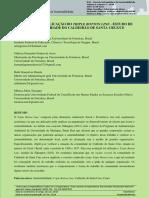 Oliveira, Artur G. et al (2016) - Avaliação da aplicação do TRIPLE BOTTON LINE - Estudo de caso comunidade do Caldeirão