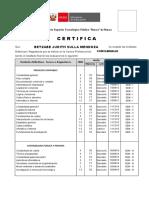 Certificado para SULLA MENDOZA-CONTAB 15-15