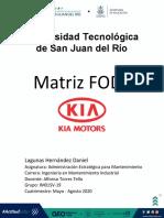 Actividad Matriz FODA Lagunas Hernández Daniel IM01SV-19