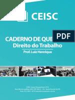 caderno de questções - D. TRABALHO