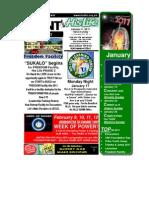 January 9 2011 Newsletter One Half Version